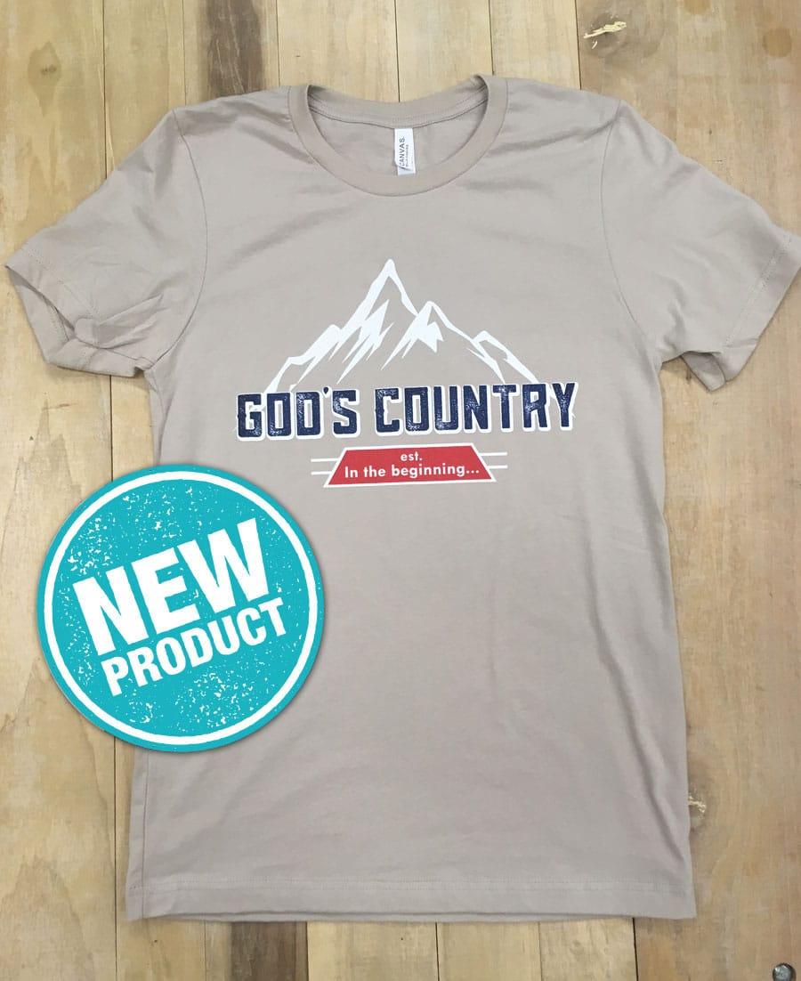 4ed958ed7db1d Alaska Big-Game Hunting - God's Country T-Shirt - Billy Molls Adventures