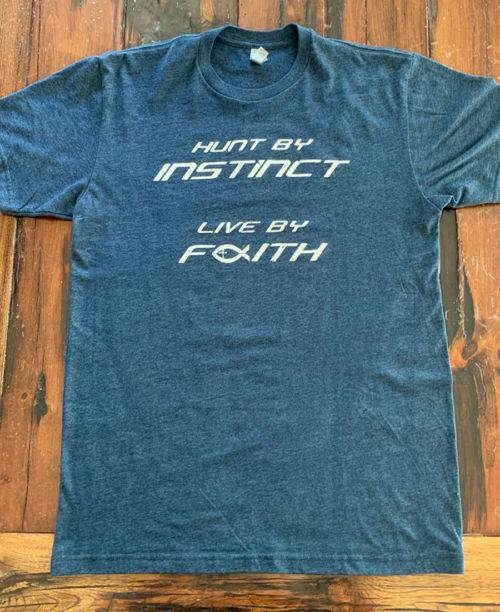 45e8f16dd4fed Alaska Big-Game Hunting - Hunt by Instinct T-Shirt - Billy Molls ...